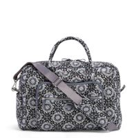 Iconic Weekender in Charcoal Medallion