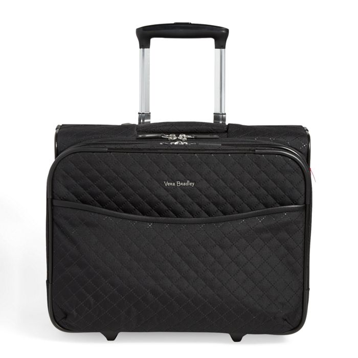 Image Of Iconic Rolling Work Bag In Classic Black