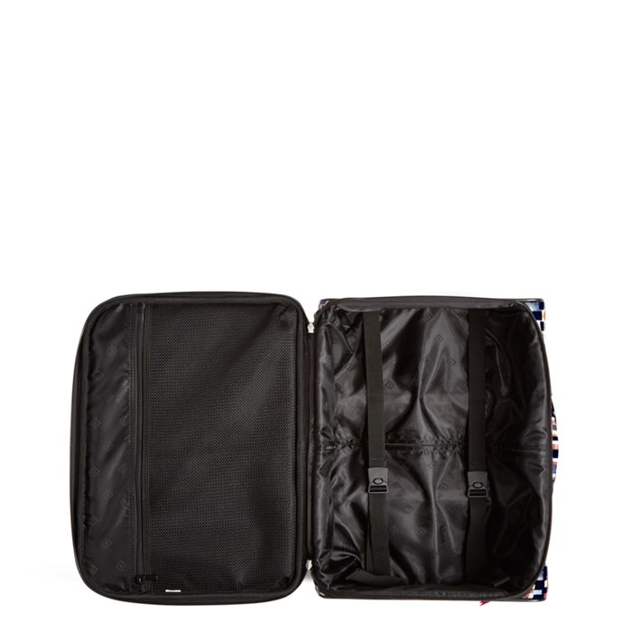Image Of Iconic Rolling Work Bag In Abstract Blocks