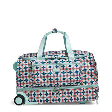 Lighten Up Foldable Rolling Duffel Bag