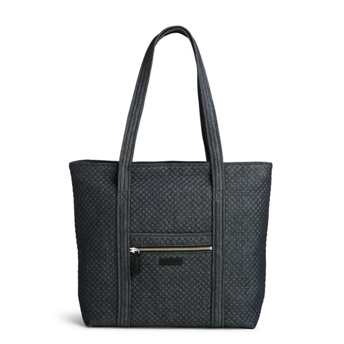 Image Of Iconic Vera Tote In Denim Navy