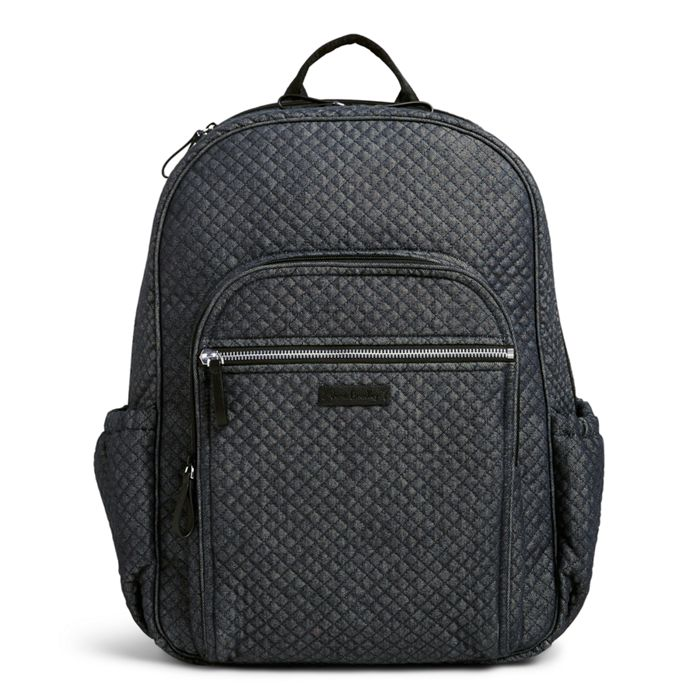 Image Of Iconic Campus Backpack In Denim Navy
