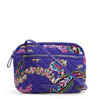 Deals on Vera Bradley Iconic RFID Little Crossbody
