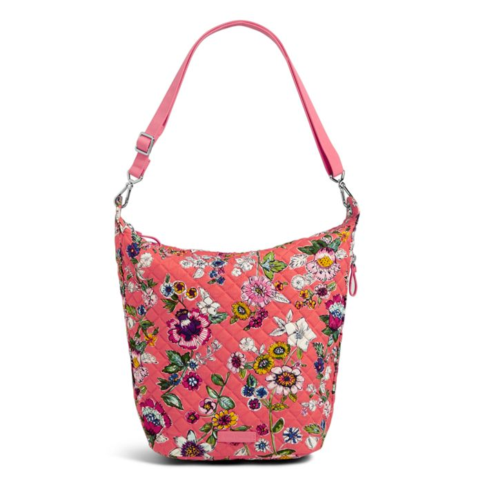 4e79f7b445 Image of Carson Hobo Bag in Coral Floral