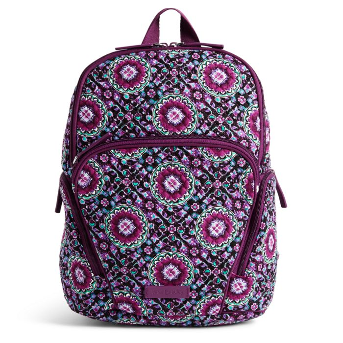 Image Of Hadley Backpack In Lilac Medallion