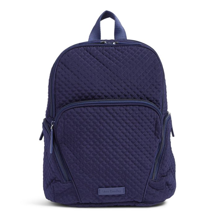 Image Of Hadley Backpack In Microfiber Clic Navy