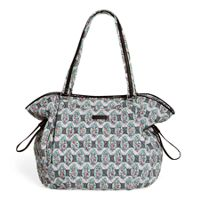 Iconic Glenna Tote in Paisley Stripes