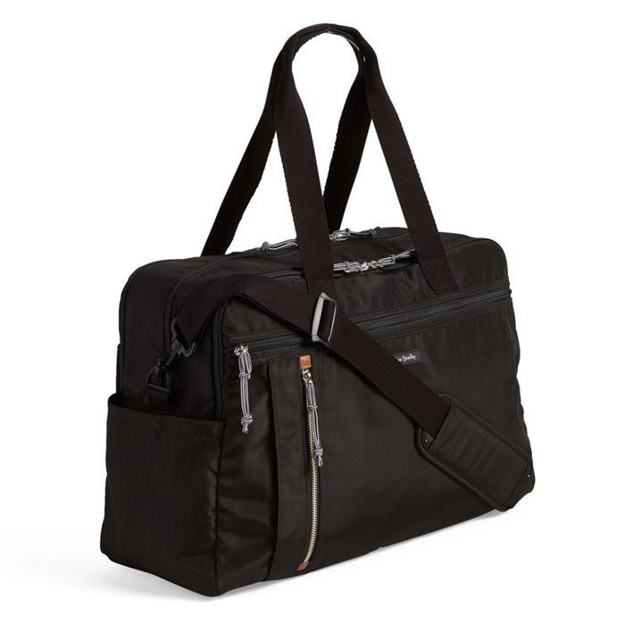 Image Of Lighten Up Weekender Travel Bag In Black