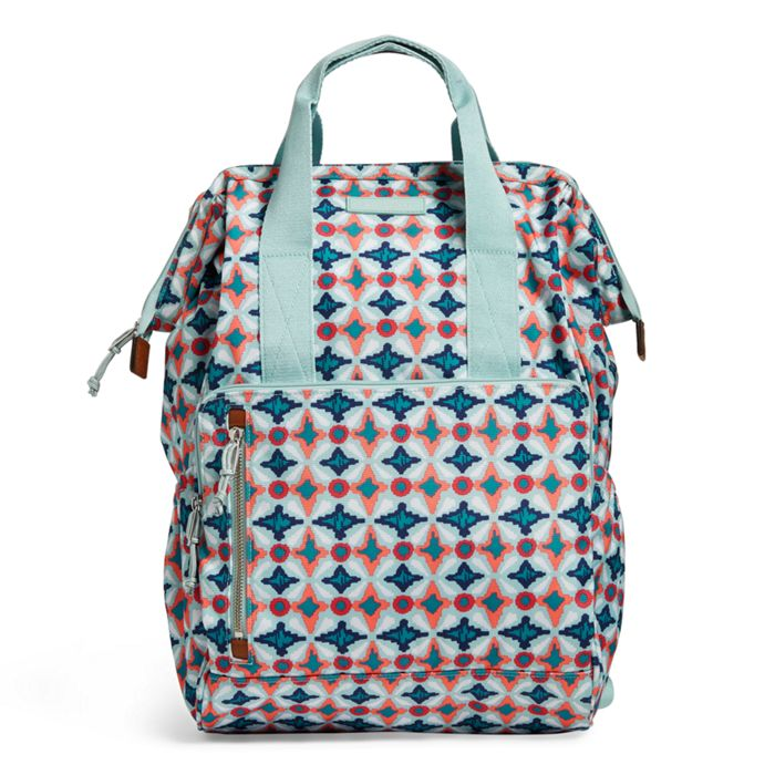Image Of Lighten Up Frame Backpack In Water Geo