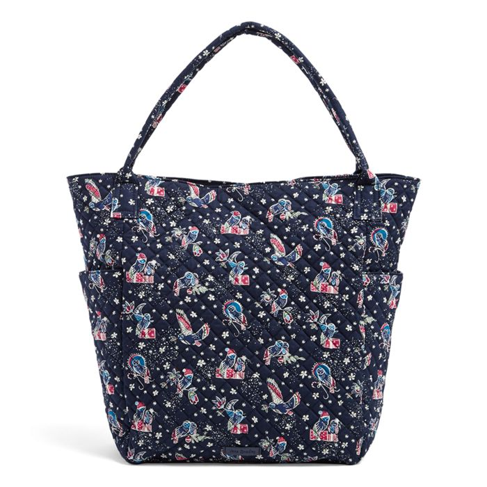 Image of Bright Tote in Holiday Owls 0d2bdb6d16010
