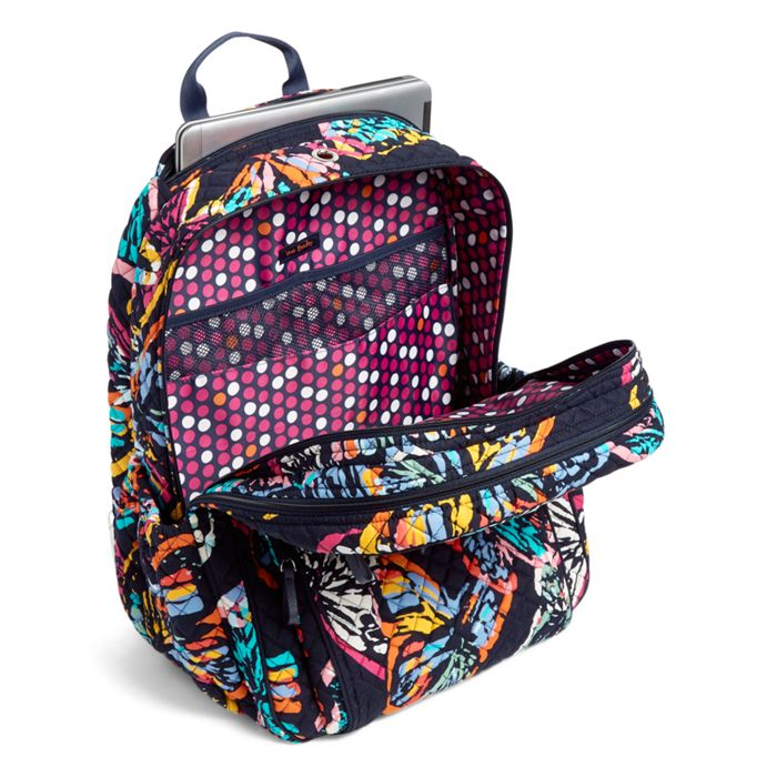 Image Of Iconic XL Campus Backpack In Butterfly Flutter