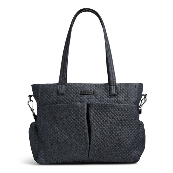 Image Of Iconic Ultimate Diaper Bag In Denim Navy