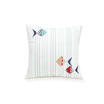 Embroidered Ribbon Pillow