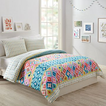 Hacienda Diamonds Comforter Set Full/Queen