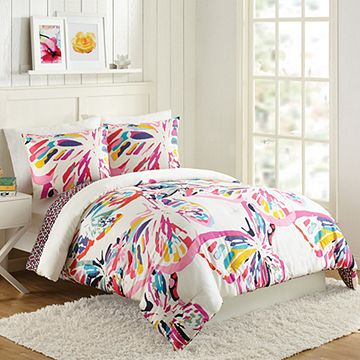 Butterfly Flutter Comforter Set Full/Queen