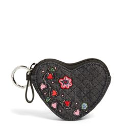 Iconic Heart Bag Charm by Vera Bradley