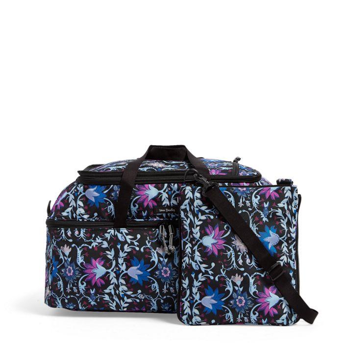 Image Of Lighten Up Convertible Travel Bag In Bramble Vines