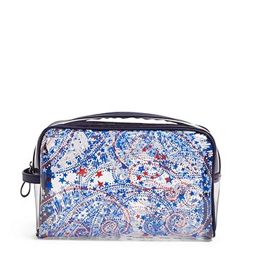 Clear Beach Cosmetic Bag