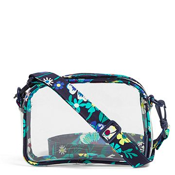 Clearly Colorful Stadium Crossbody Bag