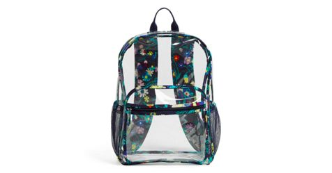 Clearly Colorful Large Backpack Vera Bradley
